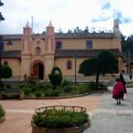 La plaza en Nabón. Fuente: Seproyco