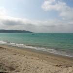 La playa en Jama. Fuente: Seproyco